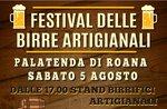 """""""Festival delle birre artigianali"""" con stand gastronomico a Roana - 5 agosto 2017"""