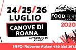 FOOD FOR ALL- Cibo di strada a Canove di Roana - Dal 24 al 26 luglio 2020