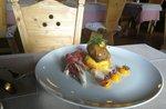 guancetta di manzo ai porcini con pan brioche alla zucca e radicchio di treviso brasato