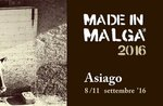 MADE IN 2016 Hütte, Bergkäse, Asiago.8-11 nationale Veranstaltung September