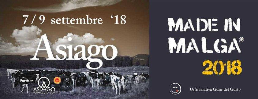 Made in malga 2018 evento nazionale dedicato ai formaggi for Baite ad asiago