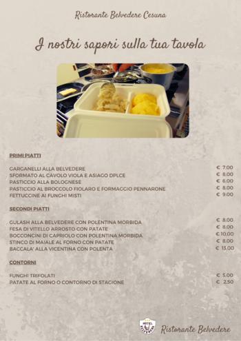 menu da asporto ristorante belvedere cesuna n1