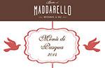Oster Menü im Ristorante Baita 2014 bei Asiago, Maddarello April 20