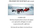 Weihnachten-Mittagessen im Restaurant La Baitina Asiago 25. Dezember 2015