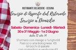 Mittagessen zum Mitnehmen oder zu Hause im Restaurant Belvedere in Cesuna zum Bridge Republic Day