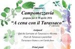 Serata dedicata al tarassaco di Conco al ristorante CAMPOMEZZAVIA, 30 apr 2016