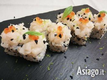 menu sushi alpi di foza 2021