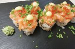 Mittwoch, 12. Mai: Sushi zum Mitnehmen oder Home-Menü des Alpi di Foza Restaurants