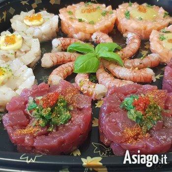 menu sushi ristorante alpi di foza