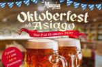 OKTOBERFEST bei ASIAGO-Themen Menüs im Restaurant-Pizzeria MAGIC-vom 2. bis 15. Oktober 2017