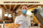 Servizio di ASPORTO E CONSEGNA A DOMICILIO della Trattoria Pizzeria Al Fortino durante il periodo natalizio