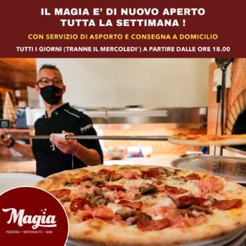 pizzeria magia aperta tutta la settimana con aspor
