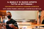 Dal 1 febbraio la Pizzeria Ristorante Magia di Asiago è aperta a pranzo e la sera continua con il servizio di asporto e domicilio