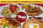 Servizio ASPORTO E CONSEGNA A DOMICILIO del Ristorante Pizzeria Magia Asiago durante il periodo natalizio