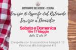 Pranzo a domicilio del Ristorante Belvedere di Cesuna Sabato e domenica 16 e 17 maggio
