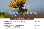 Pranzo e cena da asporto del Ristorante Campomezzavia di Asiago - 1, 2, 3 maggio 2020