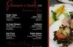 Frühling am Tisch im 2018-kulinarisches Event mit Produkten von der Hochebene von Asiago