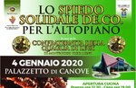 """Die Solidaritätsspitze"" in Roanas Canove - Asiago Plateau - 4. Januar 2020"
