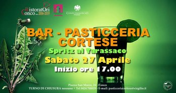 spritz tarassaco al bar cortese conco 2019