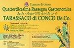 Am Tisch mit dem Löwenzahn CONCO-14. kulinarischen Event am Asiago Hochebene-April und Mai 2019