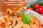 Trippa Alla parmigiana bis zur Brücke der Heiligen im Pizza Restaurant Magic 28. Oktober bis 1 November 2017-Asiago