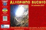 Wäsche-Plateau Wanderung Bildung in Höhlen des Altopiano di Asiago-24 September 2017