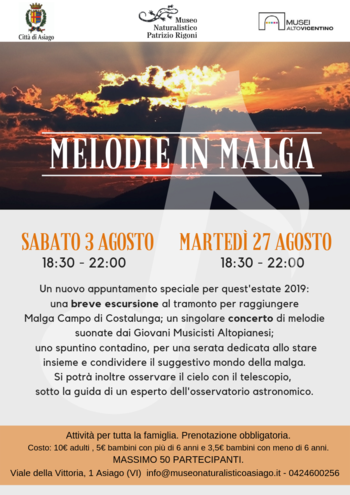Melodie in malga