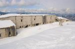 Schneeschuhwandern Sie am Mount Lisser einen Blick auf die EAST Highland Guide