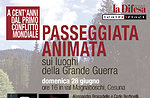 Passeggiata Animata sui luoghi della Grande Guerra, Val Magnaboschi, Altopiano