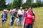 Geführte Wanderung von der Hütte Val Ant in der Ortschaft. Top von Lärche, Asiago Hochebene-14 August 2017