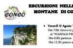 Geführte Wanderung zum Monte Cengio mit dem Verein der Freunde der Erde, 17. August Conco-2018