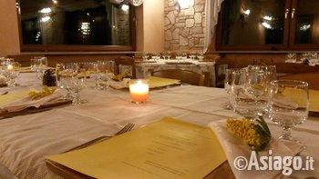 Cena per la festa delle donne all 39 agriturismo gruuntaal for Asiago agriturismo