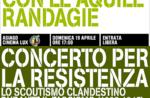 Concerto per la resistenza, Cantando con le aquile randagie, Altopiano di Asiago