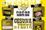 Cesuna in 2018-traditionelle Sommerfest Party auf der Hochebene von Asiago