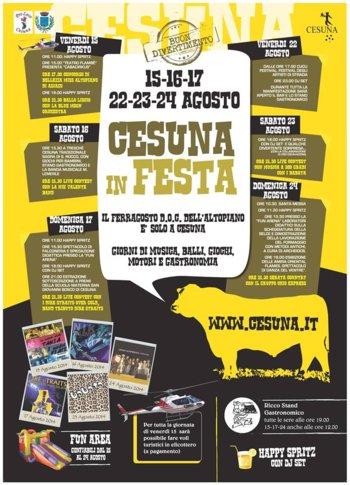 Cesuna Festival-Asiago Hochebene-August 2014
