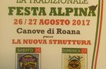 """Alpine Festival"" in Canove di Roana-26./27. August 2017"
