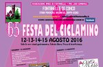 Fest der Cyclamen in Fontanelle Conco, 12.-15. August 2016 Asiag plateau