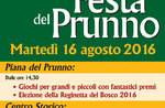 Tradizionale FESTA DEL PRUNNO e spettacolo pirotecnico ad Asiago, 16 agosto 2016
