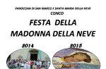 Fest der Madonna della Neve 2018 in Conco, Hochebene von Asiago