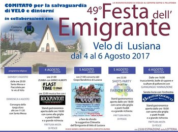 Festa dell'emigrante 2017