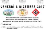 Fest der Unbefleckten Empfängnis in Cesuna und Treschè hohl-Altopiano di Asiago-8 Dezember 2017