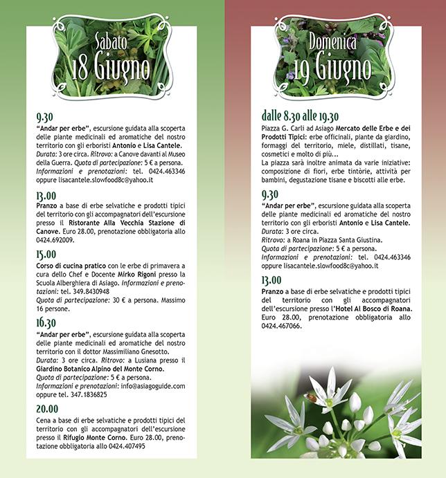 La festa delle erbe di montagna 2016 ad asiago 5a for Albergo paradiso asiago
