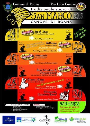 Sagra di San Marco und Cuchi 2019 in Canove di Roana