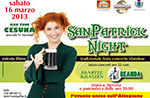 San Patrick Night Marzo 2013