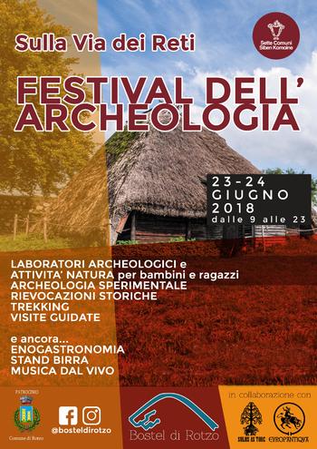 festival dellarcheologia 2018 al bostel di rotzo