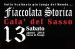 Fiaccolata storica e spettacolo pirotecnico a Calà del Sasso di Asiago, 13 ago