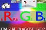 """Foto-Ausstellung """"ERRE GI BI"""" von der Öffentlichkeit, Asiago Hochebene 7-Club-7.-18. August Foto 2017"""