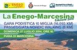 Das MARCESINA ENEGO NULL Edition-Rennen von 10 Meilen, 27. Juli 2014
