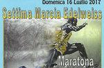 7ª MARCIA EDELWEISS e 6ª Maratona Memorial Giuliana Crestani, Conco - 16 luglio 2017