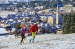 Spur des UNSTERBLICHEN-individuelle Rennens Trail Running in 3 Stufen auf der Asiago Hochebene-5/6/7 August 2017